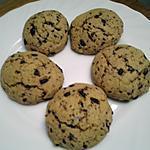 recette Cookies au  chocolat à la farine d'épeautre  Pour environ 30 cookies.