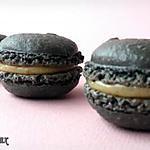 recette Macarons ganache à la réglisse