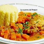 recette Poulet aux carottes, mijoté à la Leffe