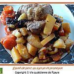 recette Sauté de porc au safran, soja, cannelle, … et aussi pruneaux
