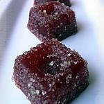 recette Pâte de fruits à la fraise