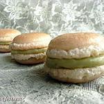 recette Macarons ganache au thé vert
