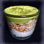 recette Verrine à l'avocat, au saumon fumé & au fromage frais