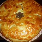 recette Tourte au boeuf et champignons