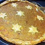 recette Tarte a la courge de Noël ( pumpkin pie)