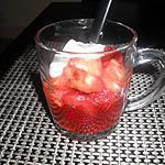 recette salade de fruit ananas et fraises