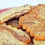 recette Biscuit aux amandes, poudre de combava et cacao