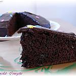 recette Gâteau Chocolat-Courgette