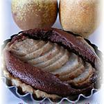 recette Tarte aux Poires Frangipane Chocolat