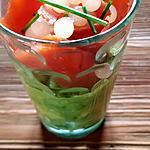 recette Avocat saumon perles de yuzu