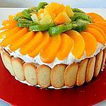 recette DELICE AUX FRUITS