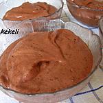 recette Mousse au chocolat stracciatella vegan