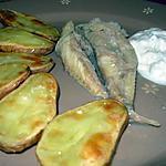 recette Queues de lotte et pommes de terre au four.