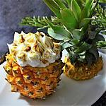 recette Ananas meringué