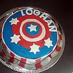 recette Gâteau captain america