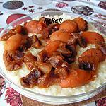 recette Riz au lait aux abricots