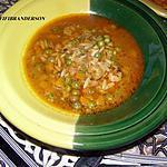 recette Soupe aux legumes et fruits de mer