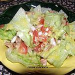 recette salade de laitue et thon