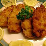 recette Picatta de Porc Panée (très fines tranches de porcs)