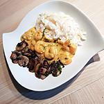 recette Riz crevette à l ail