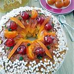 recette Couronne des rois aux fruits confits