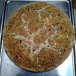 recette Quiche sans pâte allégée au jambon blanc et persil pour 6 personnes.
