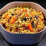 recette Orge Lardons et Légumes Sautés