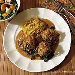 recette Boulettes style poulet au beurre, version 2 +
