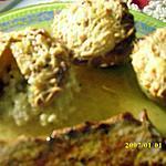 recette Muffins de pommes de terre au coulant de fromage