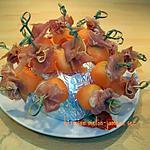 recette melon-jambon à l'heure de l'apéro