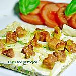 recette Flammekueche alsacienne aux lardons et oignons