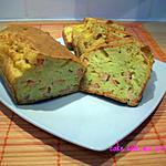 recette cake au crevettes roses