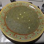 recette Potage aux fanes de radis