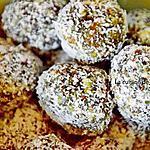 recette Boules d'énergie aux abricots et noix de cajou, vegan