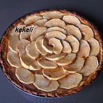 recette Tarte briochée aux pommes