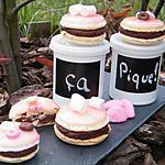recette Ooo Macarons chocolat & Tagada ® pink ooO