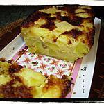 recette clafoutis- cake aux pommes