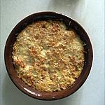 recette Gratin de butternut quinoa