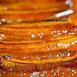 recette Gâteau renversé à la banane caramélisée et combava,sublime!