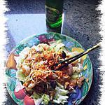 recette salade asiatique aux crevettes