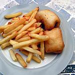 recette Fish and chips (poissons en beignet frites)