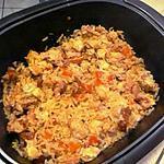 recette Marmite de riz à l'espagnole
