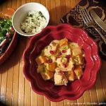 recette Blanquette de truite en ramequins