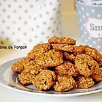recette Biscuit aux flocons d'avoine, sans oeufs, vegan