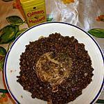 recette Crépinette aux lentilles moutardées