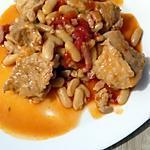recette sauté de porc aux haricots blanc