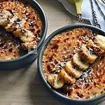 recette crèmes brûlées comme des bananes flambées