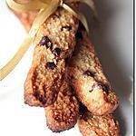 recette Batons d'Amandes & Grué de Cacao