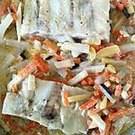 recette pavé de colin et sa julienne de légumes