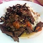 recette Bœuf a la chinoise